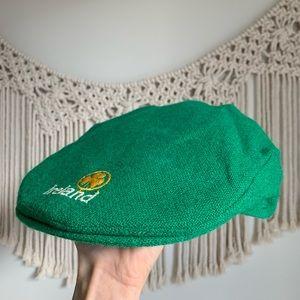 100% pure wool paper boy cap